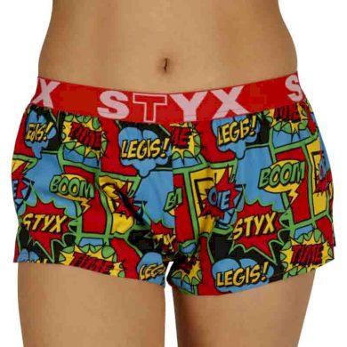 Dámské trenky Styx art sportovní guma boom (T955)
