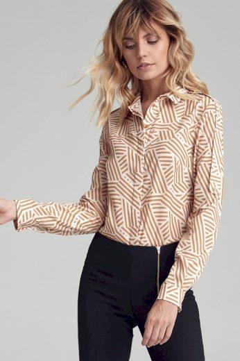 Košile s dlouhým rukávem  model 138805 Colett