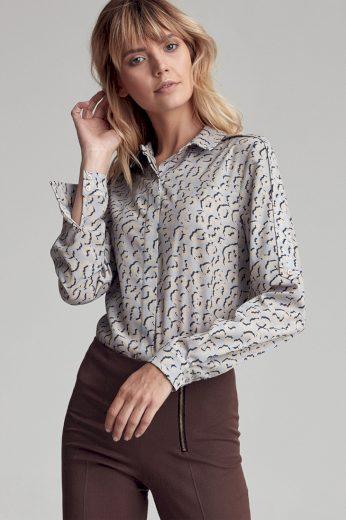 Košile s dlouhým rukávem  model 138806 Colett