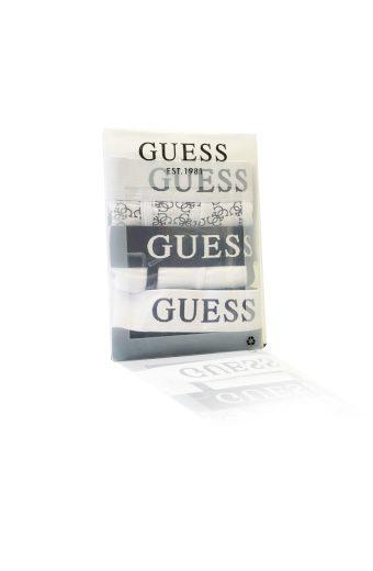 Pánské boxerky 3pack U0BG21K6YW1 - FF91 černo-bílá - Guess