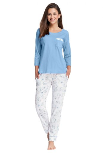 Dámské pyžamo 644 plus 4XL  - Luna
