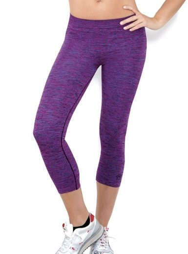 Dámské sportovní legíny 7/8 Donna Active-Fit melange Barva: