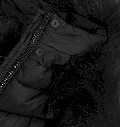 Dámská prošívaná zimní bunda s kapucí 7754 - Libland