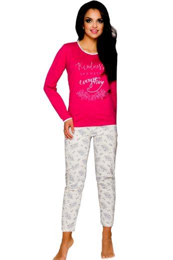 Dámské pyžamo Gabi 211 rapberry - TARO