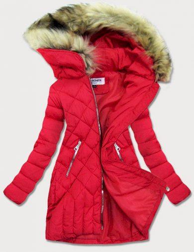 Prošívaná dámská zimní bunda LF808 - LF WOMEN