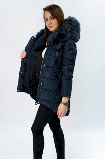 Dámská zimní bunda s kapucí LD-7670 - LIBLAND
