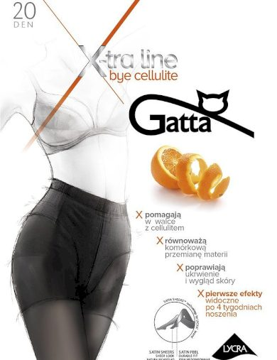 Dámské punčochové kalhoty Gatta Bye Cellulite 20 den 5-XL