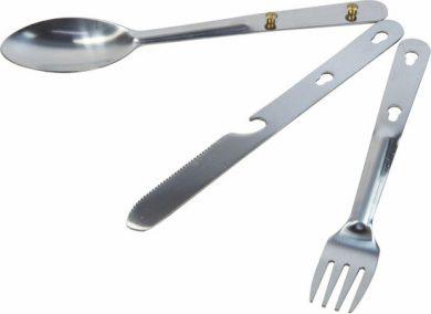 Set příborů Regatta RCE129 Steel Cutlery Set Stříbrná