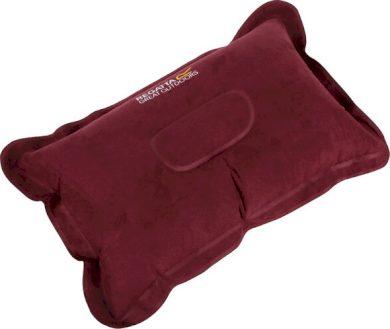 Cestovní polštář Regatta RCE230 Inflatable Pillow Červený