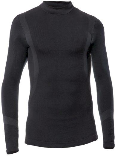 Dětské funkční tričko s dlouhý rukávem IRON-IC Barva: Černá, Velikost: