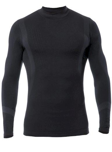 Pánské funkční triko s dlouhým rukávem IRON-IC 2.2 Barva: Černá, Velikost: