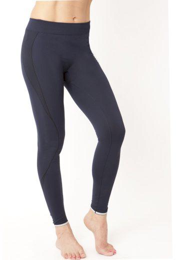 Dlouhé unisex termo kalhoty IRON-IC Down 1.0 - modrá Barva: Modrá, Velikost: