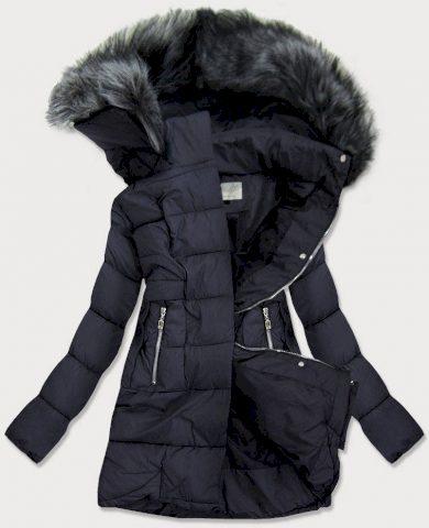 Dámská prošívaná zimní bunda s kapucí 17-032 - Misstengfei