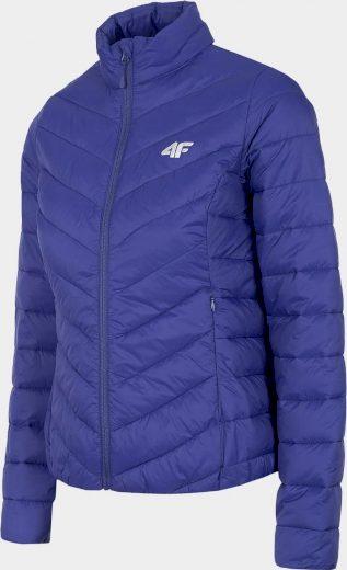 Dámská péřová bunda 4F KUDP003 modrá