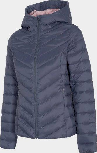 Dámská péřová bunda 4F KUDP004 šedá
