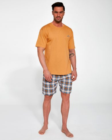 Pánské pyžamo Cornette 326/111 Mark kr/r S-2XL
