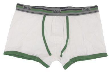 Pánské boxerky M30861 bílá - Dolce & Gabbana