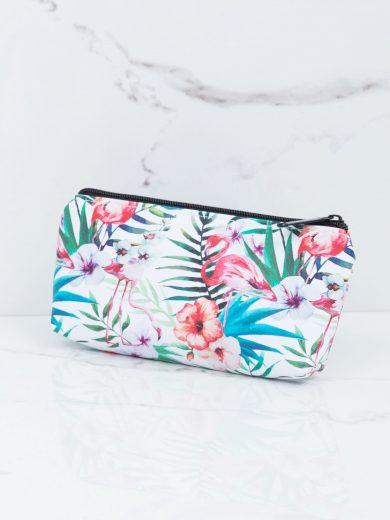 Dámská kosmetická taška s exotickým potiskem 24209 - FPrice