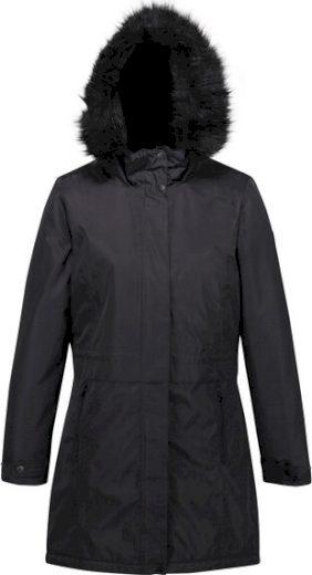 Dámský zimní kabát Regatta RWP301 Lexis 800 černý