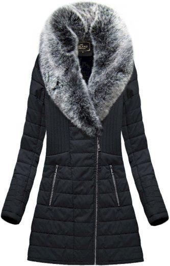Dámský koženkový kabát LD-5520 - LIBLAND