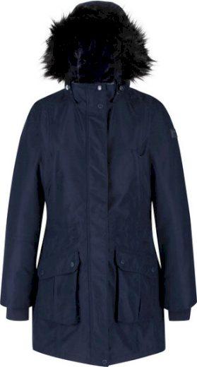 Dámský zimní kabát Regatta RWP298 Sefarina 540 tmavě modrý