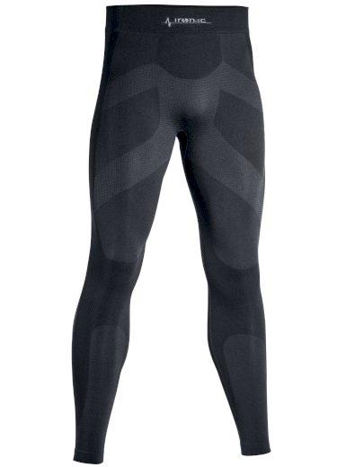 Dlouhé pánské funkční kalhoty IRON-IC 4.1. - černá Barva: Černá, Velikost: