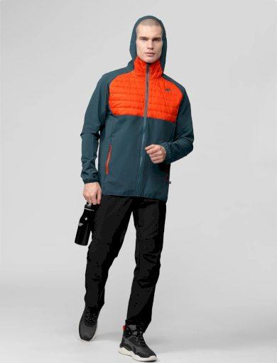 Pánská outdoorová bunda 4F KUMH060 modrá denim