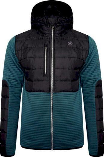 Pánská bunda Dare2B DMA455 Narrative Sweater LLJ tmavě zelená