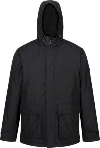 Pánská zimní bunda Regatta RMP288 Sterlings II 800 černá