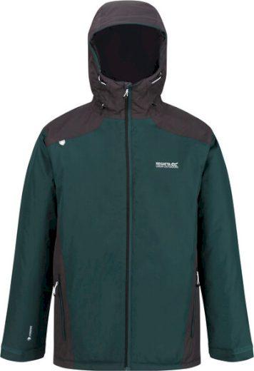 Pánská zimní bunda Regatta RMP281 Thornridge II J8E tmavě zelená