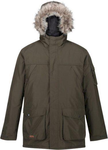 Pánská zimní bunda Regatta RMP285 Salinger II 41C Khaki