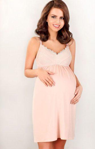 Dámská těhotenská noční košilka 3033 MK - LupoLine