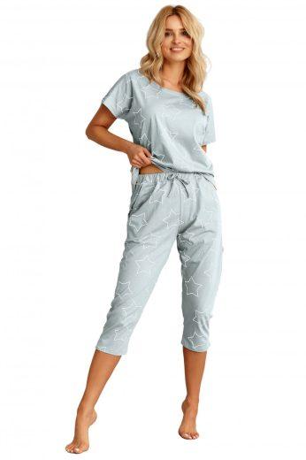 Dámské pyžamo 2490 Oksa blue - TARO