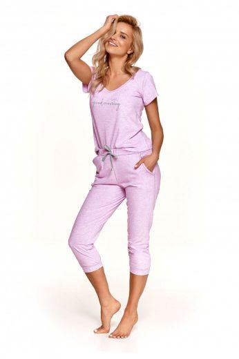 Dámské pyžamo 2503 Kamila violet - TARO