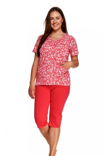 Dámské pyžamo 924 Wera red - TARO