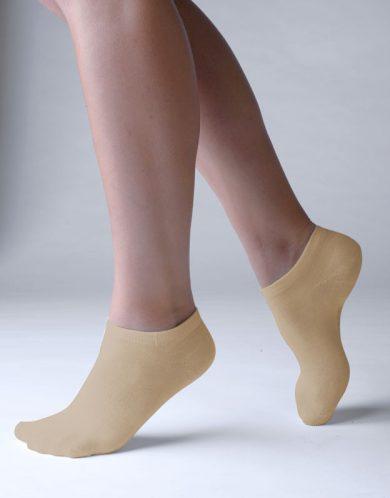 Ponožky Gino bambusové béžové (82005)
