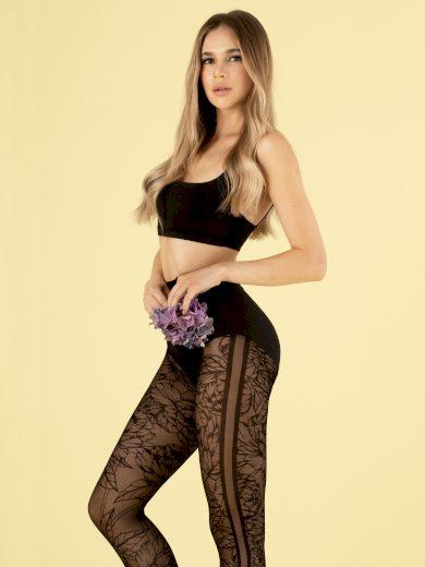 Dámské punčochové kalhoty G 6019 Lush Garden 30 den - Fiore
