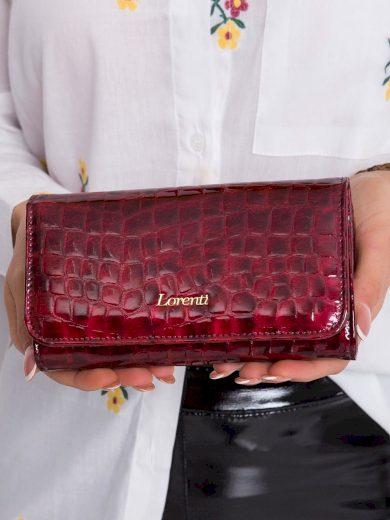 Dámská červená peněženka se zvířecím motivem 76110 - FPrice