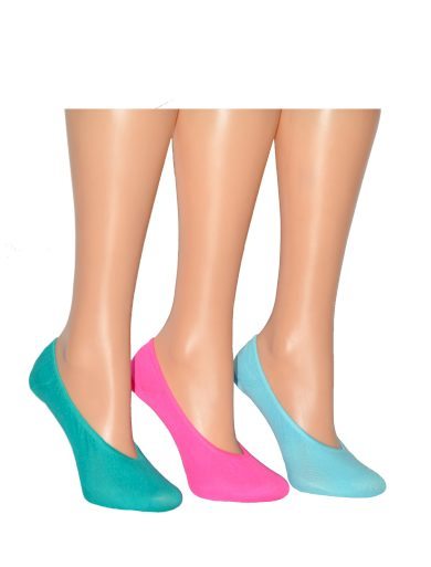 Dámské nízké ponožky Meer 10784 Bambus