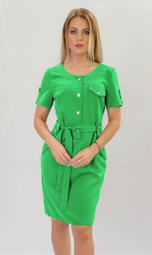 Světle zelené tužkové šaty (309ART)