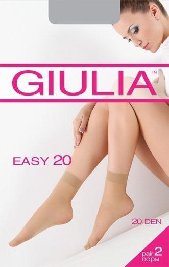 Ponožky EASY 20 CALZINO (cena za 1pár=2páry v balení)