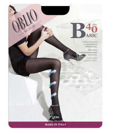 Dámské punčochové kalhoty Oblio Basic 40 den 5XXL