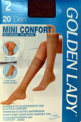 Dámské podkolenky  Golden Lady  Mini Confort 20 den A`2