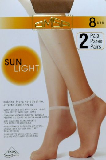 Dámské ponožky Omsa  Sun Light 8 den A`2