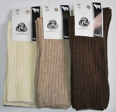Ponožky s jehněčí vlnou Skarpol art.53