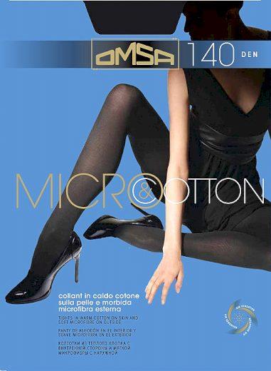 Dámské punčochové kalhoty Omsa Micro&Cotton 140 den