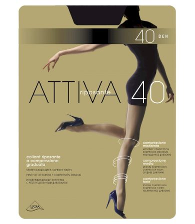 Dámské punčochové kalhoty Omsa Attiva 40 den XXL