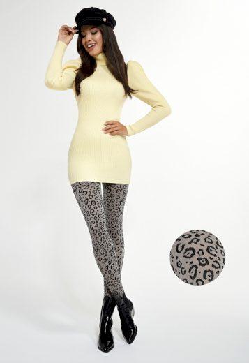 Dámské punčochové kalhoty Adrian Leopard 40 den