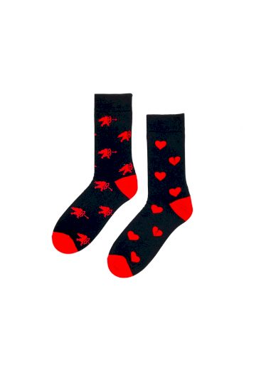 Dámské valentýnské ponožky Regina Socks 7844 Avantgarda