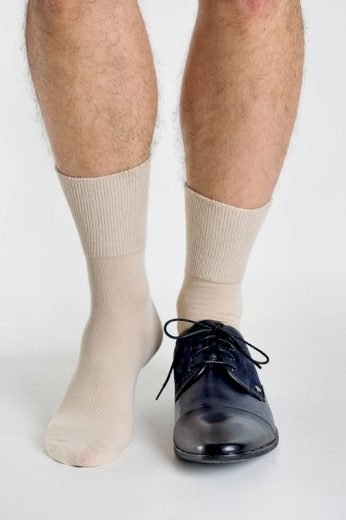 Antibakteriální netlačící ponožky Regina Purista